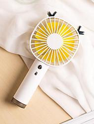 billige -2019 kreativ søt usb håndholdt mini ladevifte stille sommer bærbar liten vifte bil mini fan