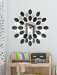 Χαμηλού Κόστους -DIY τοίχος ρολόι του ευρωπαϊκού πλαστικό ακρυλικό ακανόνιστο εσωτερικό