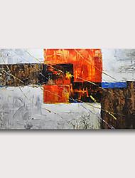 billige -Hang malte oljemaleri Håndmalte - Abstrakt Abstrakte Landskap Moderne Inkluder indre ramme