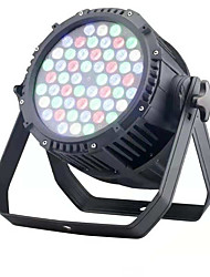 abordables -rgbw led par light 1 set 120w 3200 lm 54 led beads rgbw gradiente de color fácil de instalar luz de escenario led regulable / punto de luz que cambia de color 220-240 v pasillo / escalera etapa