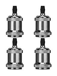 Недорогие -OYLYW 4шт E26 / E27 100-240 В DIY аксессуары лампы алюминиевая розетка