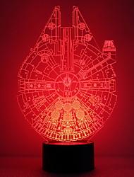 זול -1pc LED לילה אור שנה USB חמוד / יצירתי <=36 V