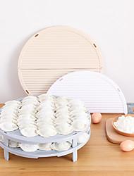 preiswerte -Gute Qualität mit Kunststoff Transparentes Klappregal Neuheiten für die Küche Küche Lager 1 pcs
