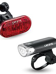 olcso -LED Kerékpár világítás Fejlámpák Kerékpározás Vízálló Hordozható Lítium akkumulátor 200 lm USB AkkumulátorBattery Fehér Piros Kerékpározás - CatEye®