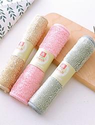 tanie -Kuchnia Środki czystości Włókno bambusowe gąbki z mikrofibry Szczotka i ścierka do czyszczenia Univerzál Trwały 1 szt.