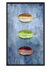 Недорогие -Новинки Декор стены Нетканые Пастораль Предметы искусства, Металлические украшения на стену Украшение