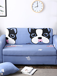 cheap -Cartoon Dog Durable Soft High Stretch Slipcovers Sofa Cover Washable Spandex Couch Covers