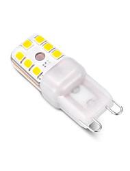 preiswerte -3 W LED Doppel-Pin Leuchten 240 lm G9 T 12 LED-Perlen SMD 2835 Abblendbar Dekorativ Warmes Weiß Kühles Weiß 220 V, 1pc