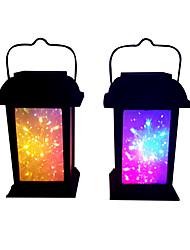 preiswerte -1pc 0.2 W Lampe / LED-Solarleuchten / LED-Straßenleuchte Solar / Dekorativ Mehrfarbig 1.2 V Außenbeleuchtung / Hof / Garten LED-Perlen