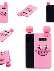 abordables -Coque Pour Samsung Galaxy S9 Plus / S8 Plus Motif Coque Animal / Bande dessinée Flexible TPU pour S9 / S9 Plus / S8 Plus