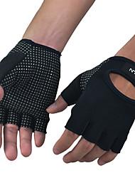 ราคาถูก -BOODUN Workout Gloves Lycra® Built-In Wrist Wraps Non Toxic ทนทาน Full Palm Protection & Extra Grip ระบายอากาศ ฟิตเนส การยกน้ำหนัก สำหรับ ผู้ชาย ผู้หญิง