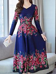 Недорогие -женское миди стройное платье с v-образным вырезом вино фиолетово-синее м л х л хх л
