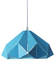 billiga -Kon / Mini Hängande lampor Fluorescerande Målad Finishes Metall Justerbar, Ny Design 110-120V / 220-240V