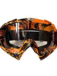 Недорогие -Универсальные Очки для мотоциклов Спорт С защитой от ветра / Стойкий к царапинам / Защита от пыли PC (поликарбонат) / микрофибры Губка