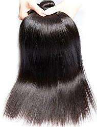 economico -6 pacchi Peruviano Liscio Non trattati Capelli Ciocche a onde capelli veri Bundle di capelli Extension di capelli umani 8-28 pollice Colore Naturale Tessiture capelli umani Morbido Nuovo arrivo Molto