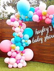 Недорогие -Воздушный шар пластик Свадебные украшения Для вечеринок / Для шоппинга Двухсторонняя липкая / Цепочка / Арочный Все сезоны