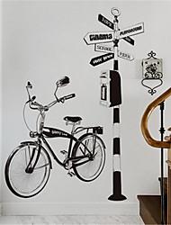 Недорогие -Креативная гостиная диван фон украшения ручной росписью велосипедные наклейки персонализированные кабинет коридор крыльцо велосипедные наклейки