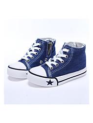 رخيصةأون -للصبيان / للفتيات أحذية كانفا ربيع & الصيف / الشتاء / للربيع والصيف مريح أحذية رياضية إلى أطفال / طفل / طفل صغير أبيض / أزرق سماوي / أحمر