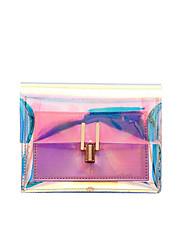 رخيصةأون -نسائي أكياس PVC حقيبة كروس سلسلة أزرق / فضي / وردي بلاشيهغ