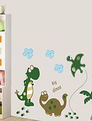 billige -Dekorative Mur Klistermærker - Fly vægklistermærker Abstrakt Soveværelse / Læseværelse / Kontor