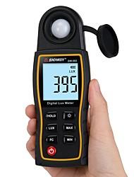 voordelige -Sndway sw-582 digitale luxmeter lux / fc meter lichtmeter voor fotografie luminometer fotometer handheld spectrometer illuminomete 200000lux