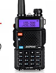 Недорогие -Baofeng Walkie Talkie Uv-5r двухстороннее cb радио обновление версии 128-канальный 5 Вт VHF UHF 136-174 МГц и 400-520 МГц портативная радиолюбительская радиостанция любительский интерком HF