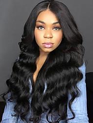 Недорогие -4 Связки Африканские косы Естественные кудри Необработанные натуральные волосы Человека ткет Волосы Пучок волос Накладки из натуральных волос 8-28 дюймовый Естественный цвет Ткет человеческих волос