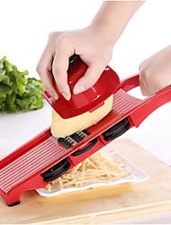 Χαμηλού Κόστους -Πλαστική ύλη Αποφλοιωτή & τρίφτης Manual Πολυλειτουργία Δημιουργική Κουζίνα Gadget Εργαλεία κουζίνας Πολυλειτουργία για Φρούτα για λαχανικών 1pc