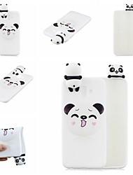 abordables -Coque Pour Samsung Galaxy J7 (2017) / J5 (2017) Motif Coque Bande dessinée / Panda Flexible TPU pour J7 (2017) / J7 (2016) / J6 (2018)