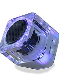 Недорогие -новый удобный динамик беспроводной динамик bluetooth неразрушающего музыки люминесцентный сабвуфер b6 bluetooth-динамик