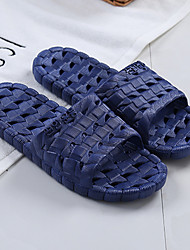 abordables -Pantoufles pour Homme / Pantoufles pour Garçons Maison chaussons Motifs 3D / Simple PVC Imprimé animal Chaussures