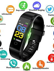 Недорогие -Муж. электронные часы Кварцевый силиконовый Черный / Синий / Красный 30 m Защита от влаги Smart Bluetooth Аналоговый На открытом воздухе Мода - Черный Красный Синий / Секундомер / ЖК экран