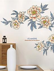 povoljno -topla dnevna soba spavaća soba noćenje vintage ornament applique zidne naljepnice veliki kauč pozadini samoljepljive cvijet naljepnice