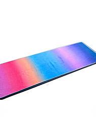 Недорогие -Коврик для йоги Ultra Slim, Эластичный, Липкий, Складной сверхтонкие волокна Для Цвет радуги, Фиолетовый