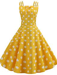 a21d511f6536 economico -Per donna Vintage Stile anni   039 50 Linea A Vestito -