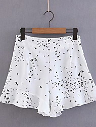 povoljno -Žene Osnovni Slim Kratke hlače Hlače - Patterned Obala S M L