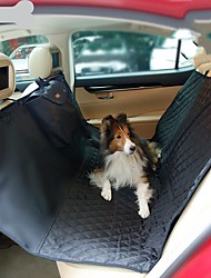 abordables -Perros Gatos Cobertor de Asiento Para Coche Atención de Salud Mascotas Portadores Portátil Viaje Doblez Un Color Negro Beige Gris
