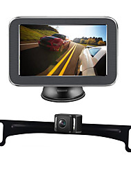 Недорогие -W500 5 дюймовый TFT-LCD 600TVL 720 x 576 CCD Беспроводное 170° Камера заднего вида / Автомобильный реверсивный монитор / Комплект заднего вида для автомобилей Автоматическое конфигурирование для