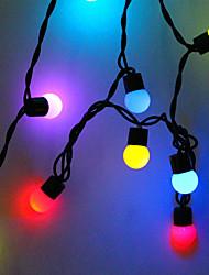 Χαμηλού Κόστους -5m Φώτα σε Κορδόνι 50 LEDs Θερμό Λευκό Δημιουργικό / Πάρτι / Διακοσμητικό 220-240 V 1pc