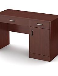 Недорогие -современный домашний офис компьютерный стол с отделкой из королевской вишни