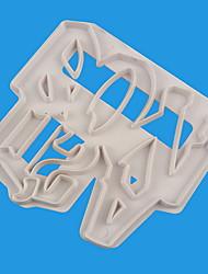 halpa -1kpl Muovi Creative Kitchen Gadget For Keittoastiat jälkiruoka Työkalut Bakeware-työkalut