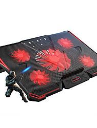 Недорогие -LITBest BM4 Охлаждающая подставка для ноутбука Пластик ABS с USB-портами Регулируемая скорость вентилятора Регулируемый угол Поклонник