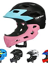 Недорогие -CAIRBULL Детские Мотоциклетный шлем BMX Шлем 16 Вентиляционные клапаны Формованный с цельной оболочкой Легкий вес Сетка от насекомых ESP+PC ПК Виды спорта / Мальчики / Девочки