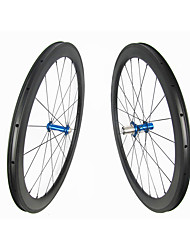 Недорогие -FARSPORTS 700CC Колесные пары Велоспорт 25 mm Шоссейный велосипед Углеродное волокно Подходит для клинчерной покрышки / бескамерной шины 20/24 Спицы 50 mm