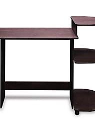 Недорогие -простой компактный компьютерный стол эспрессо черного цвета