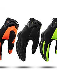 Недорогие -перчатки для мотоциклетных перчаток с полным пальцем, нескользящие / воздухопроницаемые / легкие