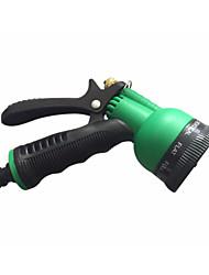 Недорогие -пластиковые медные многофункциональные водяные пистолеты 7 шаблон водяного сопла бытовой сад автомойка водяной пистолет сопла распылитель
