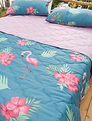 Недорогие -удобный - 1 одеяло Лето Полиэстер Однотонный / Простой / Мультипликация