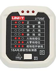 Недорогие -тестер розетки uni-t ut09e цифровой дисплей мини-дизайн индуктивный для офиса и обучения