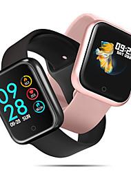 Недорогие -ck58 умные часы bt фитнес-трекер с поддержкой уведомлений и пульсометром, совместимыми с мобильными телефонами Samsung / Sony и Apple iPhone